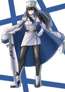 Rating: Safe Score: 20 Tags: heels kill_la_kill kiryuuin_satsuki nanijjang pantyhose sword uniform User: saemonnokami