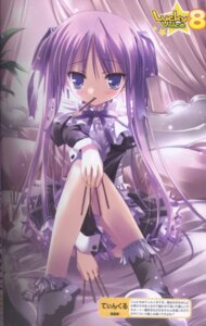 Rating: Safe Score: 33 Tags: feet hiiragi_kagami lolita_fashion lucky_star tinkle User: petopeto