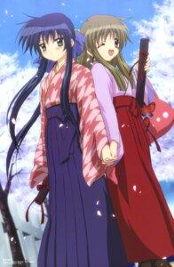 Rating: Safe Score: 19 Tags: kanon kawasumi_mai kimono kurata_sayuri sakamoto_kazuya User: MDGeist