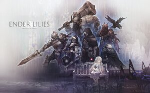 Rating: Safe Score: 14 Tags: armor dress ender_lilies_quietus_of_the_knights miv4t nun sword tagme weapon User: Dreista