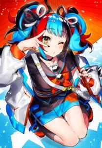 Rating: Safe Score: 7 Tags: fate/grand_order japanese_clothes mika_pikazo sei_shounagon_(fate) umbrella User: Mr_GT