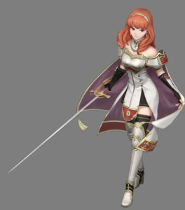 Rating: Questionable Score: 19 Tags: armor celica_(fire_emblem) fire_emblem fire_emblem_warriors heels koei_tecmo sword thighhighs transparent_png User: fly24
