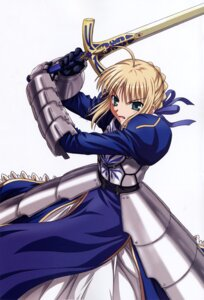 Rating: Safe Score: 10 Tags: fate/stay_night ishihara_megumi saber User: Aurelia
