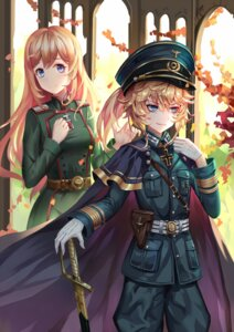 Rating: Safe Score: 29 Tags: aaeru sword tanya_degurechaff uniform viktoriya_ivanovna_serebryakov youjo_senki User: charunetra