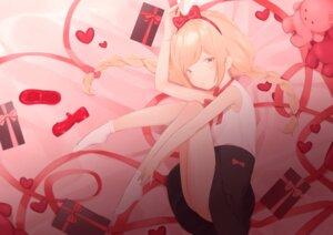 Rating: Safe Score: 8 Tags: futaba_anzu naru12 skirt_lift the_idolm@ster the_idolm@ster_cinderella_girls User: KazukiNanako