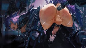 Rating: Explicit Score: 9 Tags: anal bondage cum final_fantasy final_fantasy_xiv genderswap miqo'te penis reckless_dog tagme uncensored User: BattlequeenYume