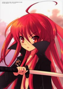 Rating: Safe Score: 9 Tags: ito_noizi shakugan_no_shana shana sword User: vita