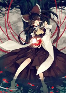 Rating: Safe Score: 29 Tags: hakurei_reimu hina touhou User: Nekotsúh