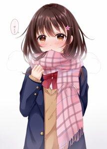 Rating: Safe Score: 30 Tags: sakura_hiyori seifuku sweater User: RyuZU