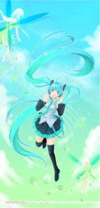 Rating: Safe Score: 7 Tags: fairy hatsune_miku macia thighhighs vocaloid User: yumichi-sama