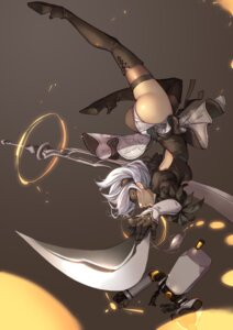 Rating: Safe Score: 33 Tags: ass dress heels leotard nier_automata splish sword thighhighs yorha_no.2_type_b User: mash
