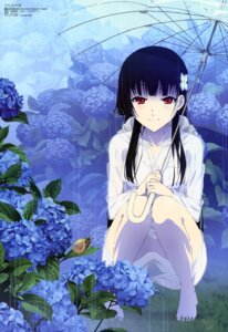 Rating: Questionable Score: 98 Tags: sanka_rea sankarea see_through umbrella yoshihara_tatsuya User: Ravenblitz