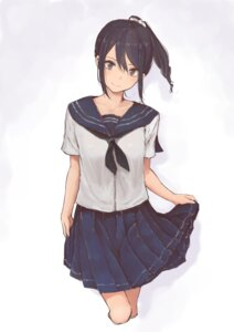 Rating: Safe Score: 46 Tags: rutchifu_(31_pacers) seifuku skirt_lift User: mash
