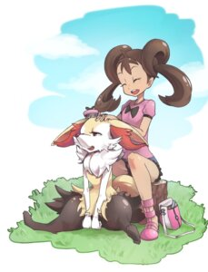 Rating: Safe Score: 18 Tags: aodaisuki braixen pokemon pokemon_xy sana_(pokemon) User: Mr_GT