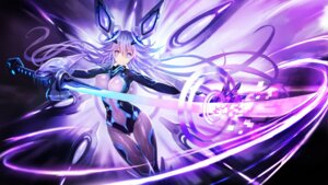 Rating: Safe Score: 46 Tags: bodysuit choujigen_game_neptune hanshu purple_heart sword User: Nepcoheart