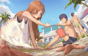 Rating: Safe Score: 23 Tags: aisaka_taiga bwh cleavage dress see_through summer_dress swimsuits tagme takasu_ryuuji toradora! wet wet_clothes User: BattlequeenYume