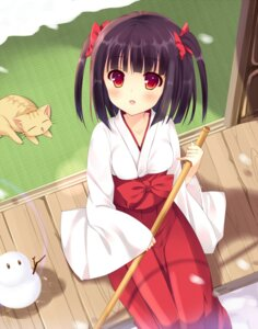 Rating: Safe Score: 38 Tags: bekotarou miko User: blooregardo