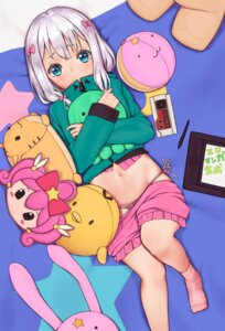 Rating: Questionable Score: 29 Tags: agnam_ore eromanga-sensei izumi_sagiri meruru pajama pantsu string_panties User: Mr_GT