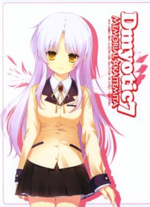 Rating: Safe Score: 44 Tags: angel_beats! dmyo seifuku snow_ring tenshi wings User: blooregardo