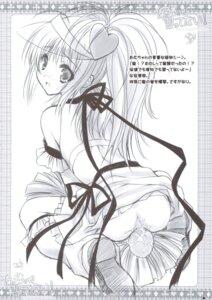 Rating: Explicit Score: 9 Tags: amulet_heart anus ass cheerleader hinamori_amu moekibara_fumitake monochrome pussy_juice shugo_chara skirt_lift zip User: noirblack