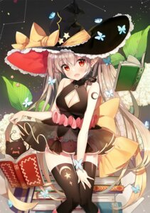 Rating: Safe Score: 8 Tags: ayamy pointy_ears thighhighs witch User: Mr_GT