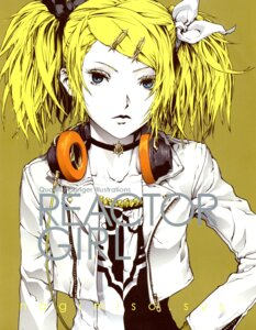 Rating: Safe Score: 9 Tags: kagamine_rin meltdown_(vocaloid) nagimiso nagimiso.sys vocaloid User: Radioactive