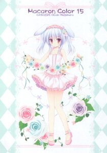 Rating: Questionable Score: 4 Tags: animal_ears bunny_ears cascade dress hasekura_chiaki heels paper_texture tagme User: Radioactive
