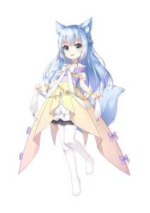 Rating: Safe Score: 2 Tags: animal_ears chenglingguang dress kitsune pantyhose tail User: whitespace1