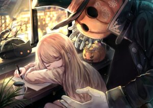 Rating: Safe Score: 15 Tags: hakua_mill halloween neko User: KasakiNozomi