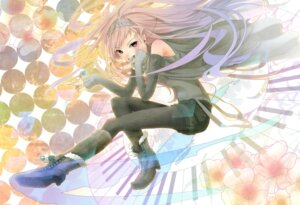 Rating: Safe Score: 15 Tags: chroma_of_wall megurine_luka pantyhose vocaloid zerokichi User: midzki