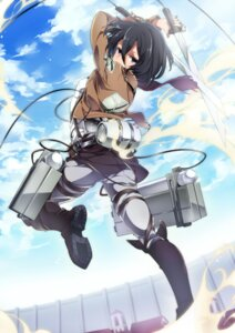 Rating: Safe Score: 60 Tags: mikasa_ackerman shingeki_no_kyojin sword u35 User: Radioactive