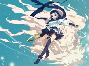 Rating: Safe Score: 19 Tags: fishnets kumoi_ichirin riv stockings thighhighs touhou unzan wallpaper User: Radioactive