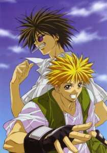 Rating: Safe Score: 4 Tags: amano_ginji get_backers male mido_ban User: charunetra