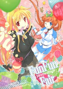 Rating: Safe Score: 21 Tags: fate_testarossa mahou_shoujo_lyrical_nanoha tagme takamachi_nanoha vivio User: Radioactive