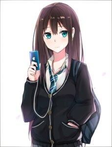 Rating: Safe Score: 44 Tags: kyouki seifuku shibuya_rin sweater the_idolm@ster the_idolm@ster_cinderella_girls User: nphuongsun93