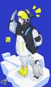 Rating: Safe Score: 8 Tags: fami_(yellow_skies) headphones penguin User: Dreista