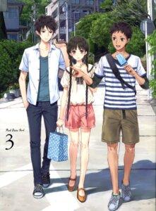 Rating: Safe Score: 25 Tags: disc_cover kishida_mel rdg:_red_data_girl sagara_miyuki souda_manatsu suzuhara_izumiko User: fireattack