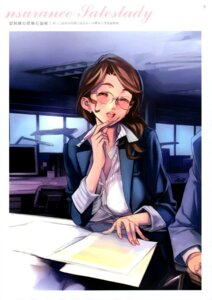 Rating: Safe Score: 27 Tags: business_suit megane nishieda User: Radioactive