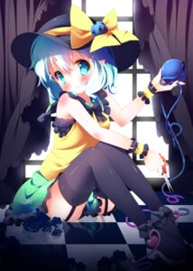 Rating: Questionable Score: 27 Tags: komeiji_koishi screening sefa stockings thighhighs touhou User: 椎名深夏