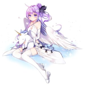 Rating: Safe Score: 36 Tags: azur_lane cleavage dress tagme thighhighs unicorn_(azur_lane) wings User: Spidey
