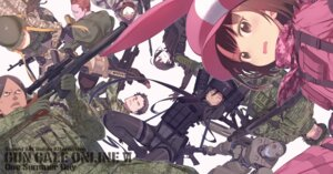 Rating: Safe Score: 11 Tags: bodysuit fukaziroh gun kohiruimaki_karen kuroboshi_kouhaku llenn pantyhose pitohui shinohara_miyu sword_art_online_alternative:_gun_gale_online tattoo uniform User: kiyoe
