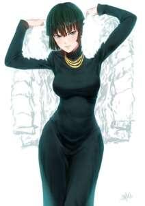 Rating: Questionable Score: 27 Tags: dress fubuki_(one_punch_man) one_punch_man see_through steamy_tomato User: yanis