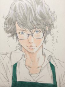Rating: Safe Score: 4 Tags: eisakusaku male megane User: Radioactive