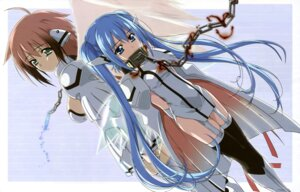 Rating: Safe Score: 64 Tags: bondage detexted garter ikaros nymph sora_no_otoshimono stockings thighhighs watanabe_yoshihiro wings User: akak4747tf