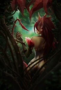 Rating: Questionable Score: 30 Tags: aveldine league_of_legends zyra User: charunetra