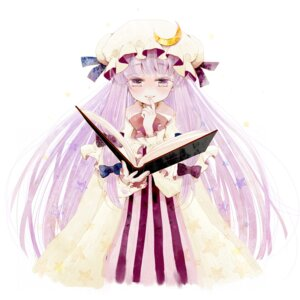 Rating: Safe Score: 4 Tags: machoba patchouli_knowledge touhou User: Radioactive