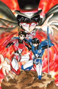 Rating: Safe Score: 0 Tags: clamp duklyon higashikunimaru_kentarou ijuuin_akira male shuukaidou_takeshi User: Share