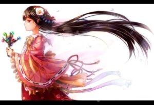 Rating: Safe Score: 35 Tags: houraisan_kaguya kimono shironeko_yuuki touhou User: Brufh