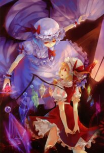 Rating: Safe Score: 19 Tags: dhiea dress flandre_scarlet lolita_fashion moe_shoujo_ryouiki remilia_scarlet touhou wings User: fireattack