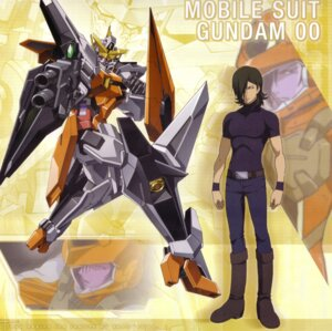 Rating: Safe Score: 8 Tags: allelujah_haptism gundam gundam_00 male mecha User: Sangwoo